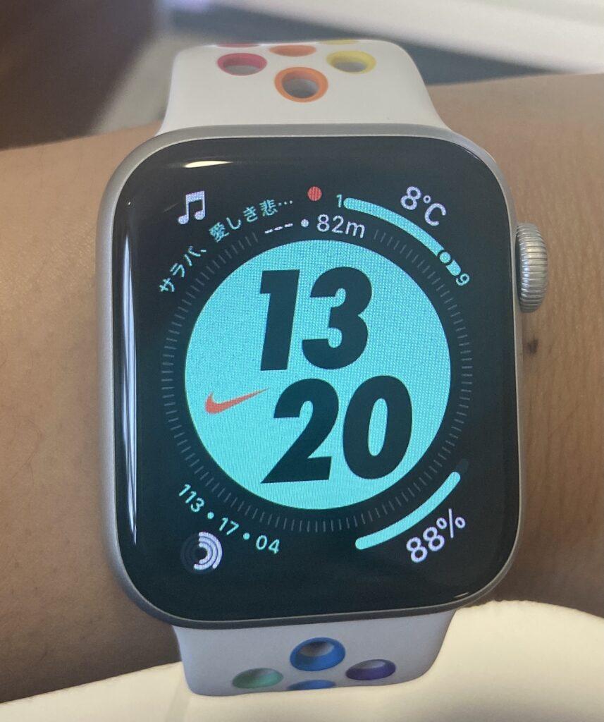 私のナイキのApple Watch