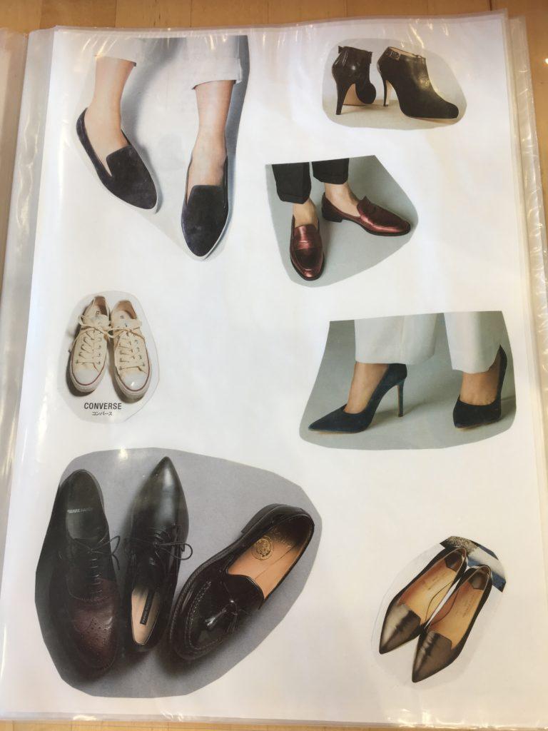 骨格ストレートの似合う靴